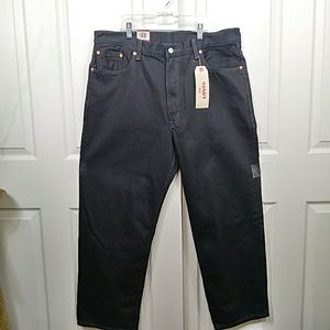 Levi's Jeans - Levi 550 Relaxed Black Jeans